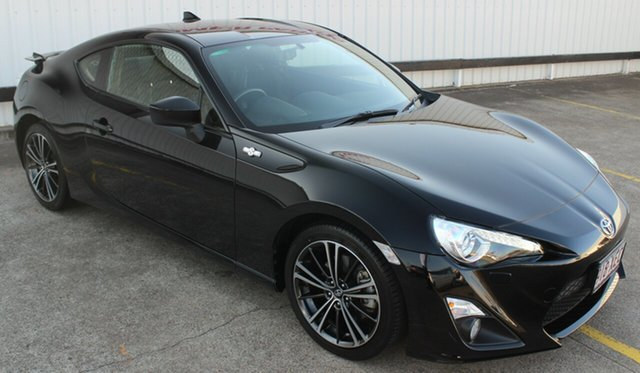 Used Toyota 86 ZN6 GTS, 2016 Toyota 86 ZN6 GTS Black 6 Speed Sports Automatic Coupe