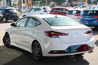 2020 Hyundai Elantra AD.2 MY20 Sport DCT Fluidic Metal 7 Speed Sports Automatic Dual Clutch Sedan.