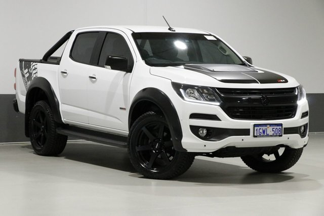 Used Holden Colorado RG MY18 LTZ (4x4), 2018 Holden Colorado RG MY18 LTZ (4x4) White 6 Speed Automatic Crew Cab Pickup