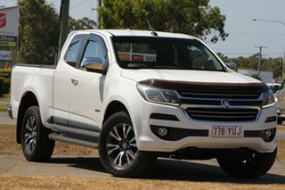2016 Holden Colorado RG MY17 LTZ Pickup Space Cab White 6 Speed Sports Automatic Utility.