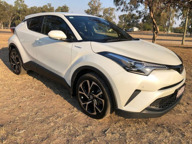 Used Toyota C-HR NGX50R Update Koba (AWD), 2018 Toyota C-HR NGX50R Update Koba (AWD) Crystal Pearl Continuous Variable Wagon