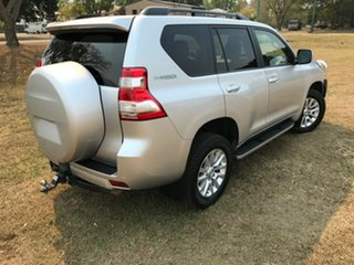 2016 Toyota Landcruiser Prado GDJ150R MY16 VX (4x4) Silver Pearl 6 Speed Automatic Wagon