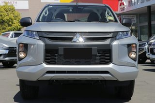 2019 Mitsubishi Triton MR MY19 GLX Double Cab Sterling Silver 6 Speed Manual Utility
