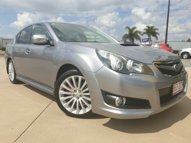 Used Subaru Liberty B5 MY11 GT AWD Premium, 2010 Subaru Liberty B5 MY11 GT AWD Premium Silver 5 Speed Sports Automatic Sedan