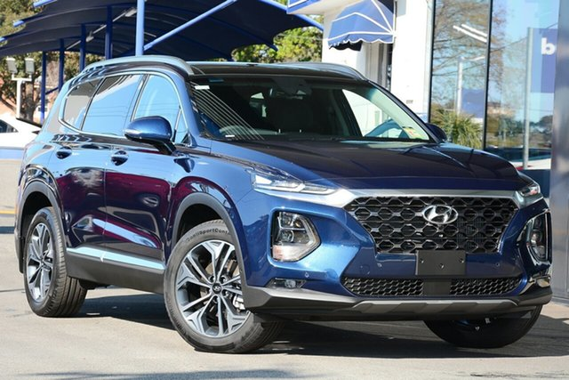 New Hyundai Santa Fe TM.2 MY20 Highlander Nunawading, 2020 Hyundai Santa Fe TM.2 MY20 Highlander Stormy Sea 8 Speed Sports Automatic Wagon