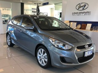 2019 Hyundai Accent RB6 MY19 Sport Lake Silver 6 Speed Sports Automatic Hatchback.