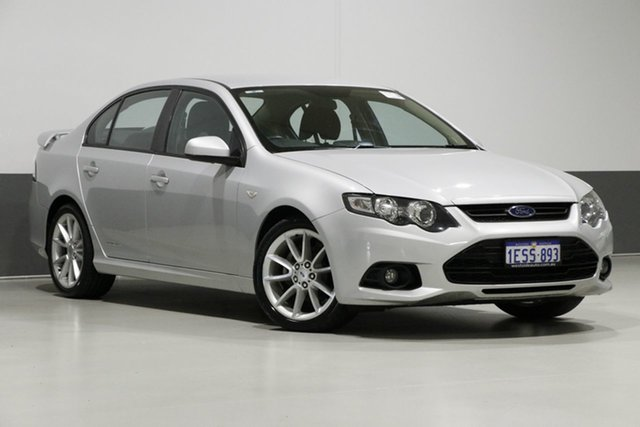 Used Ford Falcon FG MK2 XR6, 2013 Ford Falcon FG MK2 XR6 Silver 6 Speed Auto Seq Sportshift Sedan