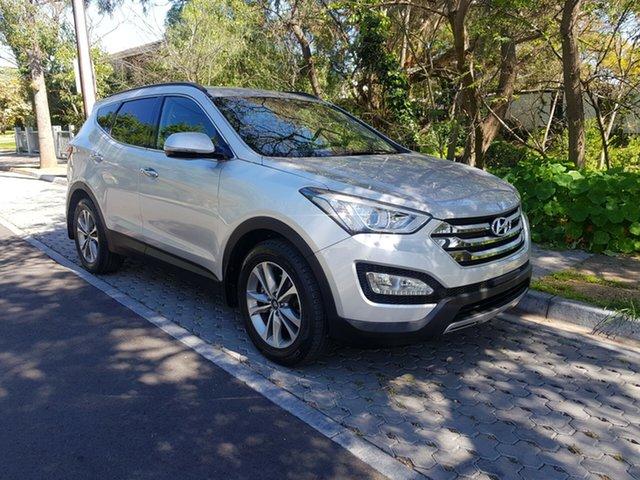 Used Hyundai Santa Fe DM3 MY16 Elite, 2015 Hyundai Santa Fe DM3 MY16 Elite Silver 6 Speed Sports Automatic Wagon
