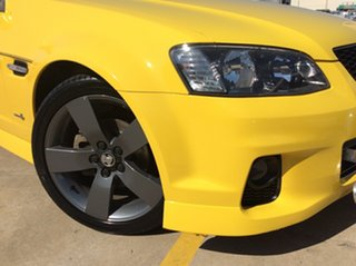 2012 Holden Ute VE II SV6 Thunder Yellow 6 Speed Manual Utility.