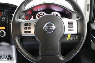2012 Nissan Navara D40 MY12 ST-X (4x4) White 7 Speed Automatic Dual Cab Pick-up