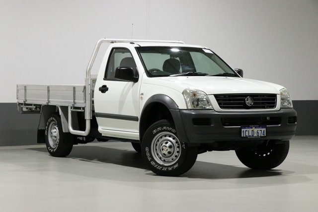 Used Holden Rodeo RA MY07 LX, 2007 Holden Rodeo RA MY07 LX White 5 Speed Manual Cab Chassis