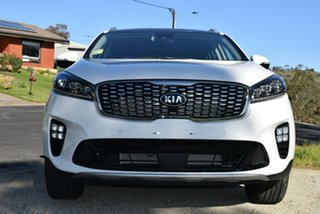 2019 Kia Sorento UM MY19 GT-Line Clear White 8 Speed Sports Automatic Wagon.