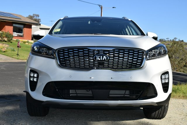 New Kia Sorento UM MY19 GT-Line, 2019 Kia Sorento UM MY19 GT-Line Clear White 8 Speed Sports Automatic Wagon