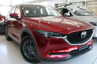 2020 Mazda CX-5 KF2W7A Maxx SKYACTIV-Drive FWD Sport Soul Red Crystal 6 Speed Sports Automatic Wagon.
