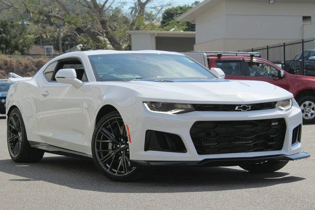 Demo Chevrolet Camaro MY19 ZL1, 2019 Chevrolet Camaro MY19 ZL1 Summit White 10 Speed Sports Automatic Coupe