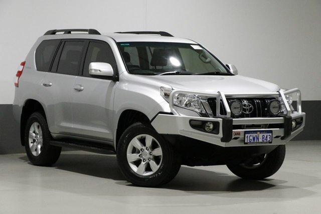 Used Toyota Landcruiser Prado GDJ150R MY16 GXL (4x4), 2016 Toyota Landcruiser Prado GDJ150R MY16 GXL (4x4) Silver 6 Speed Automatic Wagon