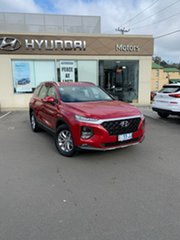 2018 Hyundai Santa Fe DM5 MY18 Active Horizon Red 6 Speed Sports Automatic Wagon.
