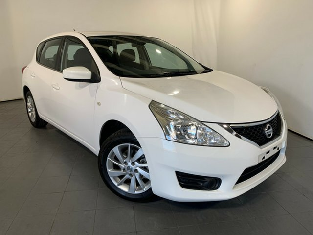 Used Nissan Pulsar B17 Series 2 ST, 2016 Nissan Pulsar B17 Series 2 ST White 1 Speed Constant Variable Sedan
