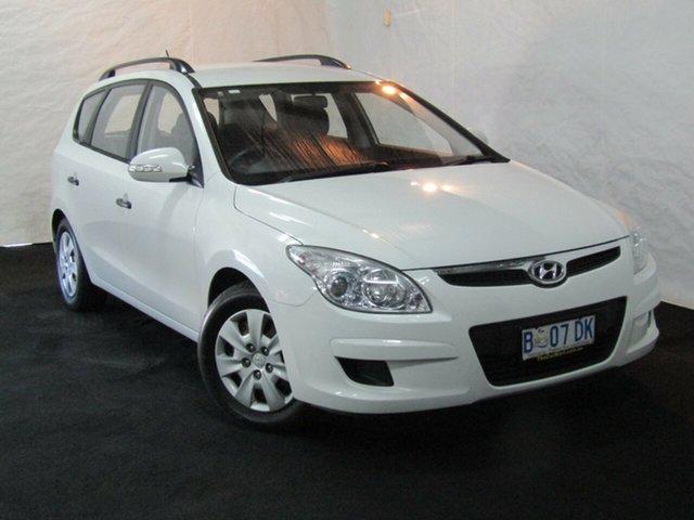 Used Hyundai i30 FD MY09 SX cw Wagon, 2009 Hyundai i30 FD MY09 SX cw Wagon Ceramic White 4 Speed Automatic Wagon