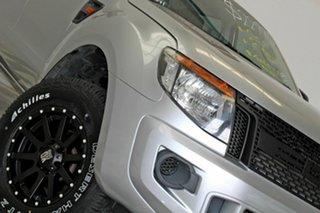 2012 Ford Ranger PX XL 2.2 Hi-Rider (4x2) Silver 6 Speed Manual Crew Cab Pickup.