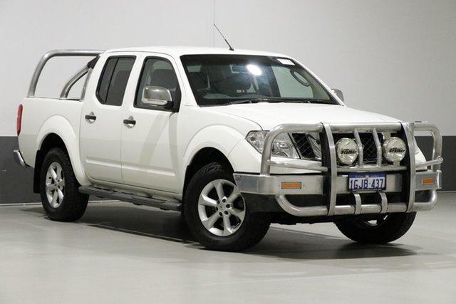 Used Nissan Navara D40 MY12 ST-X (4x4), 2012 Nissan Navara D40 MY12 ST-X (4x4) White 7 Speed Automatic Dual Cab Pick-up