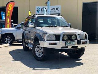 1999 Toyota Landcruiser Prado VZJ95R Grande (4x4) Silver 4 Speed Automatic 4x4 Wagon