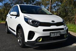 2018 Kia Picanto JA MY19 AO Edition Clear White 5 Speed Manual Hatchback.