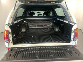 2012 Mitsubishi Triton MN MY13 GLX Double Cab White 4 Speed Sports Automatic Utility