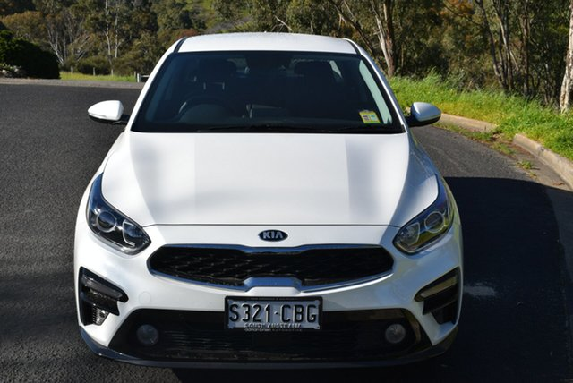 Demo Kia Cerato BD MY19 S, 2019 Kia Cerato BD MY19 S Snow White Pearl 6 Speed Automatic Sedan
