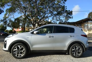 2018 Kia Sportage QL MY19 SLi AWD Sparkling Silver 8 Speed Sports Automatic Wagon