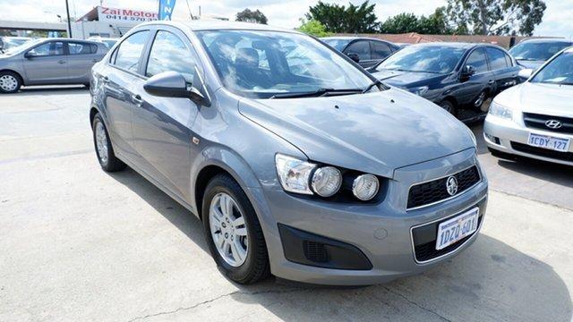 Used Holden Barina TM , 2012 Holden Barina TM Grey 6 Speed Automatic Hatchback