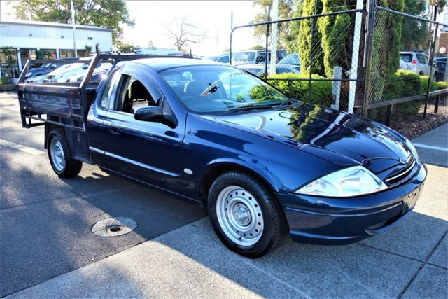 Used Ford Falcon AU III XL Super Cab, 2002 Ford Falcon AU III XL Super Cab Blue 4 Speed Automatic Cab Chassis