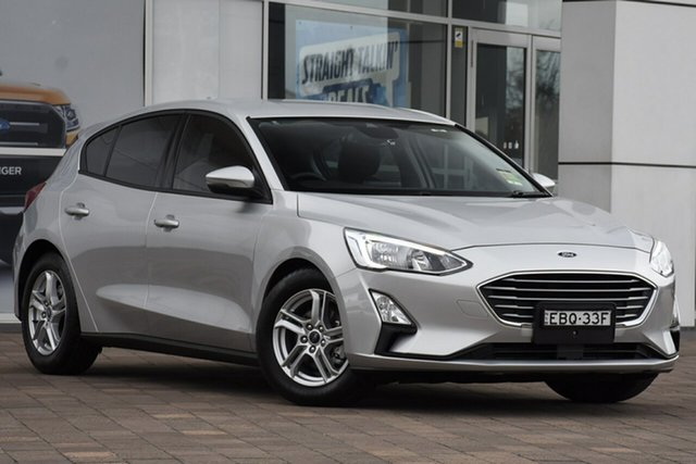 Used Ford Focus SA 2019MY Trend, 2018 Ford Focus SA 2019MY Trend Silver 8 Speed Automatic Hatchback