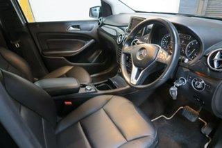 2012 Mercedes-Benz B-Class W246 B200 BlueEFFICIENCY DCT Black 7 Speed Sports Automatic Dual Clutch