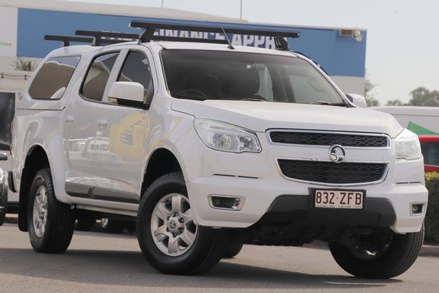 Used Holden Colorado RG MY16 LT Crew Cab 4x2, 2016 Holden Colorado RG MY16 LT Crew Cab 4x2 Summit White 6 Speed Sports Automatic Utility