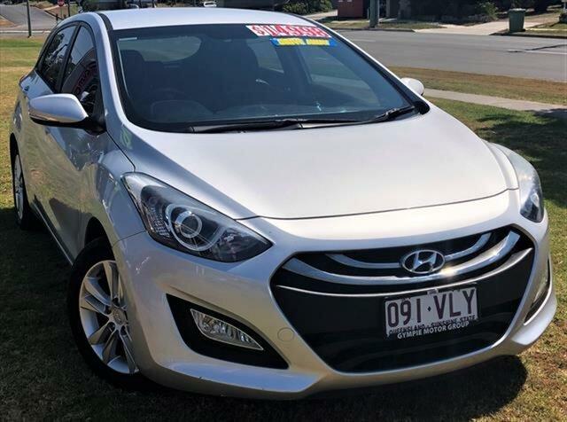 Used Hyundai i30 GD2 MY14 SE, 2014 Hyundai i30 GD2 MY14 SE Silver 6 Speed Sports Automatic Hatchback