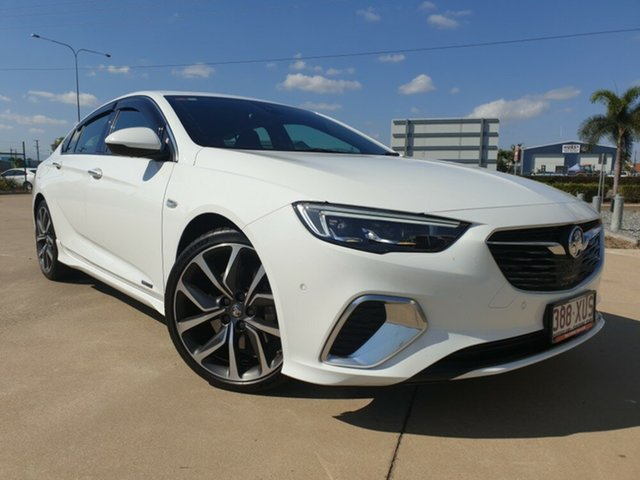 Used Holden Commodore ZB MY18 VXR Liftback AWD, 2017 Holden Commodore ZB MY18 VXR Liftback AWD White 9 Speed Sports Automatic Liftback