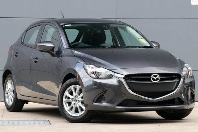 New Mazda 2 DJ2HAA Maxx SKYACTIV-Drive, 2019 Mazda 2 DJ2HAA Maxx SKYACTIV-Drive Machine Grey 6 Speed Sports Automatic Hatchback
