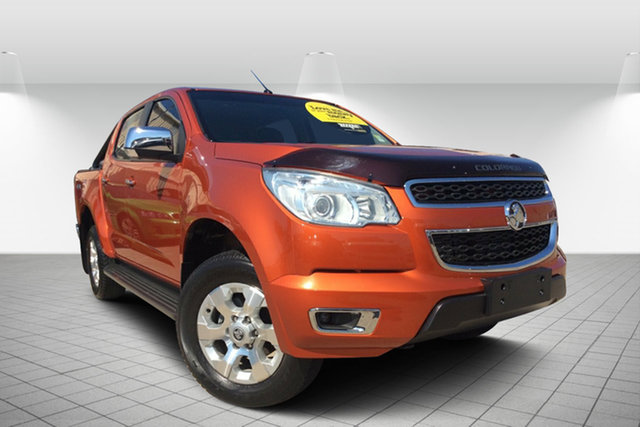Used Holden Colorado RG MY16 LTZ Crew Cab, 2016 Holden Colorado RG MY16 LTZ Crew Cab Orange Rock 6 Speed Manual Utility