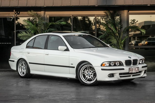 Used BMW 525i E39 MY01 Executive Steptronic, 2001 BMW 525i E39 MY01 Executive Steptronic White 5 Speed Sports Automatic Sedan
