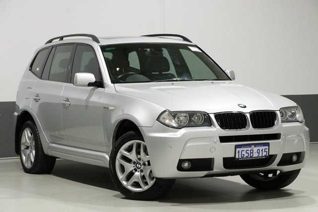 Used BMW X3 E83 MY07 2.0D, 2008 BMW X3 E83 MY07 2.0D Silver 6 Speed Auto Steptronic Wagon