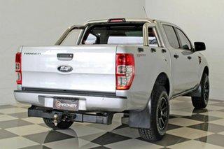 2012 Ford Ranger PX XL 2.2 Hi-Rider (4x2) Silver 6 Speed Manual Crew Cab Pickup