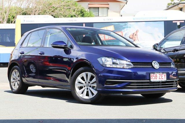 Demo Volkswagen Golf 7.5 MY19.5 110TSI DSG Trendline, 2019 Volkswagen Golf 7.5 MY19.5 110TSI DSG Trendline Atlantic Blue 7 Speed