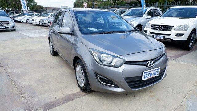 Used Hyundai i20 PB MY13 Active, 2013 Hyundai i20 PB MY13 Active Grey 4 Speed Automatic Hatchback