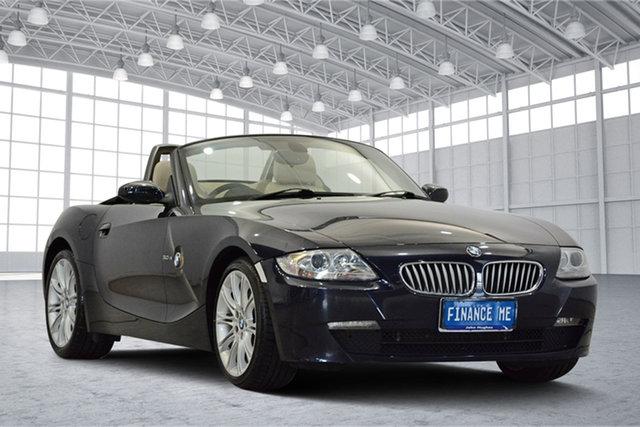 Used BMW Z4 E85 MY07 Steptronic, 2007 BMW Z4 E85 MY07 Steptronic Blue 6 Speed Sports Automatic Roadster