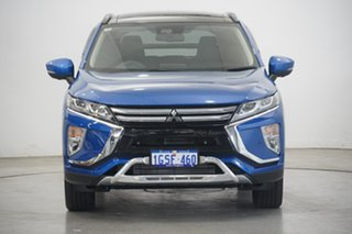 2017 Mitsubishi Eclipse Cross YA MY18 Exceed AWD Lightning Blue 8 Speed Constant Variable Wagon.