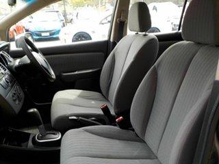 2009 Nissan Tiida C11 MY07 ST Grey 4 Speed Automatic Hatchback