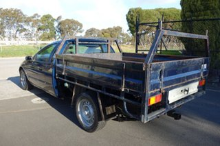 2002 Ford Falcon AU III XL Super Cab Blue 4 Speed Automatic Cab Chassis.