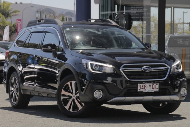 Demo Subaru Outback B6A MY18 2.5i CVT AWD Premium, 2018 Subaru Outback B6A MY18 2.5i CVT AWD Premium Crystal Black 7 Speed Constant Variable Wagon