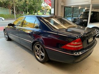 2000 Mercedes-Benz S500 V220 Tanzanite Blue Automatic Sedan